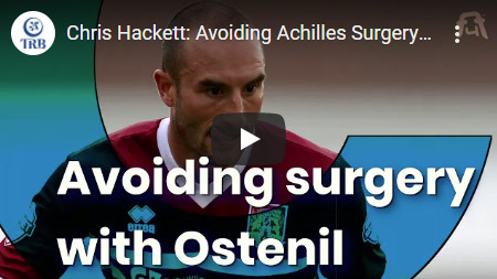 Chris Hackett: Avoiding Achilles Surgery with Ostenil Tendon