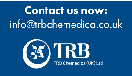 Contact us now on info@trbchemedica.co.uk